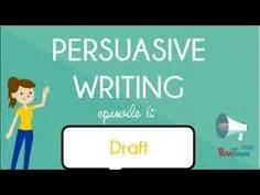 Persuasive writing and argumentative essay